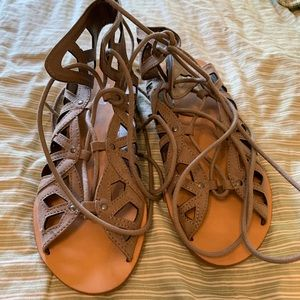 Mossimo Strappy Ankle Sandals